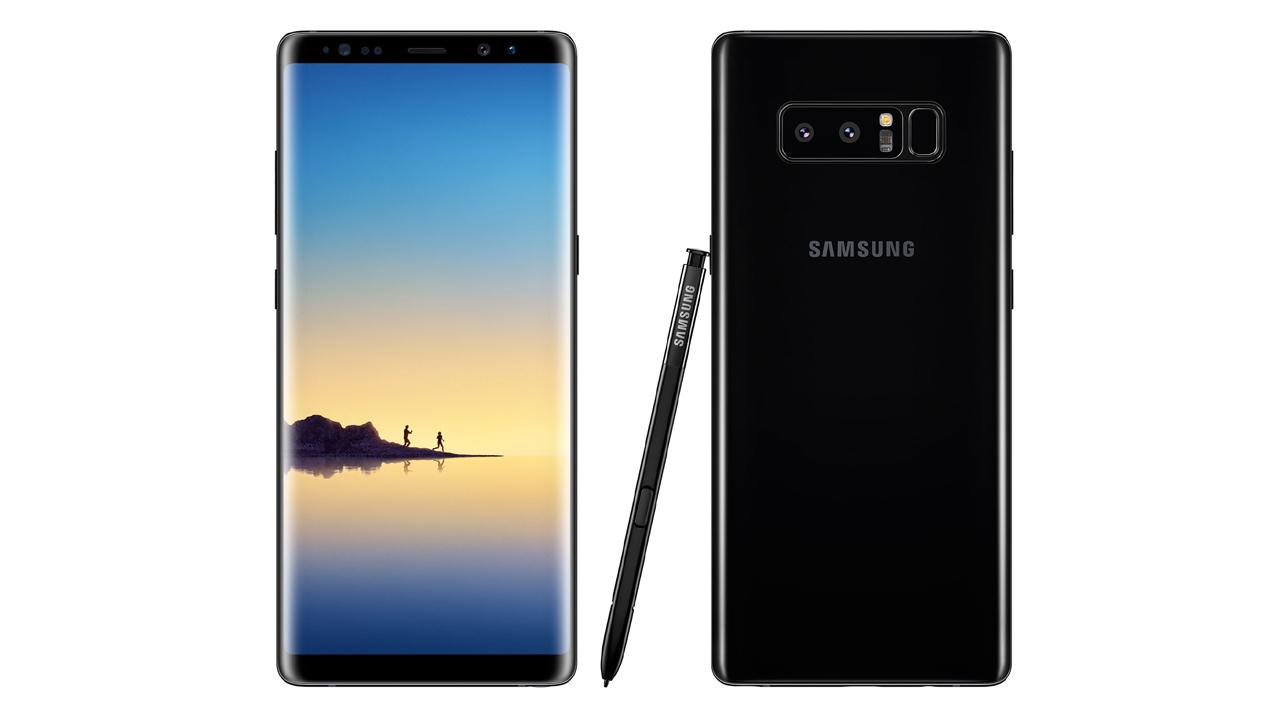 galaxynote8 - Note 8 hở sáng viền màn hình là đặc tính của màn hình cong?