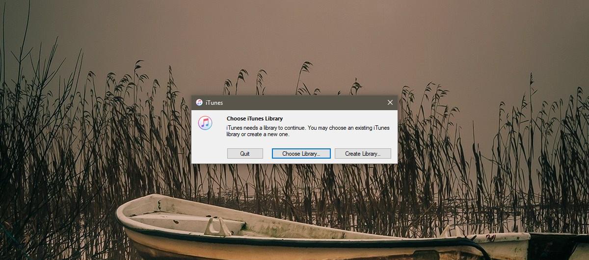 itunes create library 1 - Cách đem chợ ứng dụng quay lại iTunes