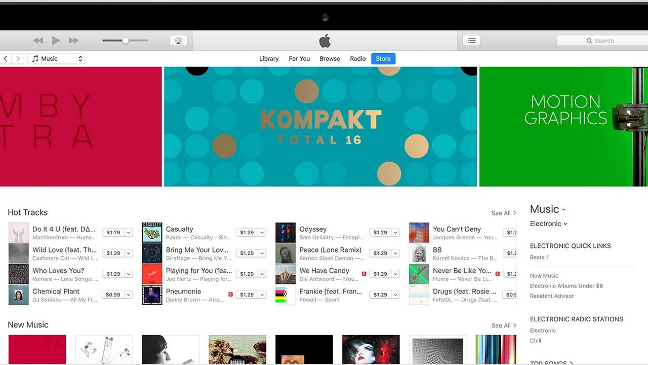itunes featured - Cách đem chợ ứng dụng quay lại iTunes