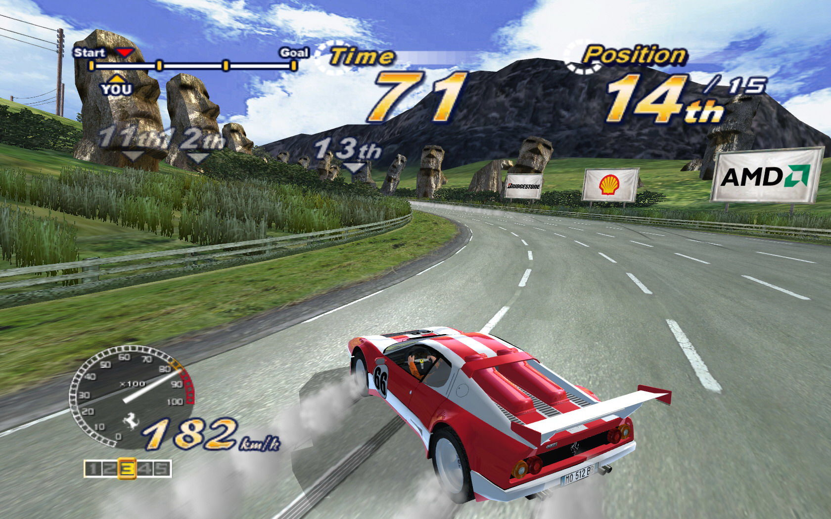 outrun 2006 5 - Game cũ mà hay: OutRun 2006 - Coast 2 Coast
