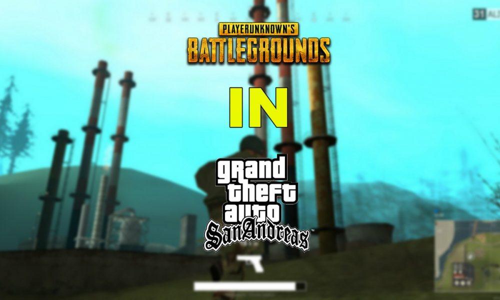 Cách thêm bản mod PlayerUnknown's Battlegrounds cho GTA