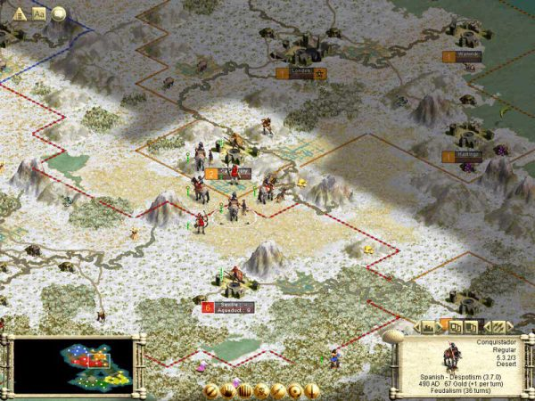 Sid Meier's Civilization III screenshot
