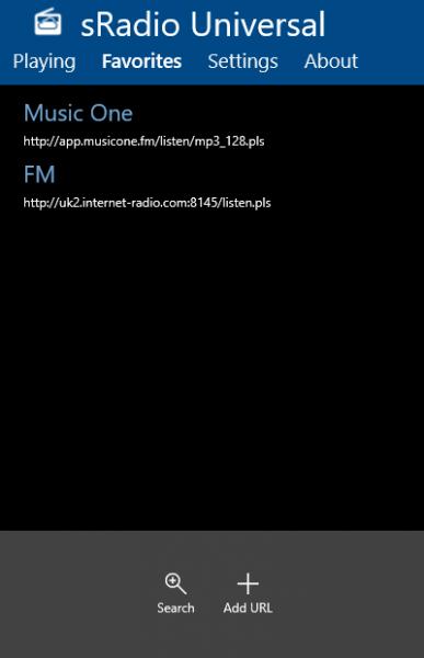 sRadio - Thưởng thức radio trực tuyến trên Windows 10 4