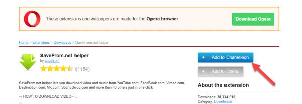 Cách cài đặt tiện ích Chrome vào Opera và ngược lại