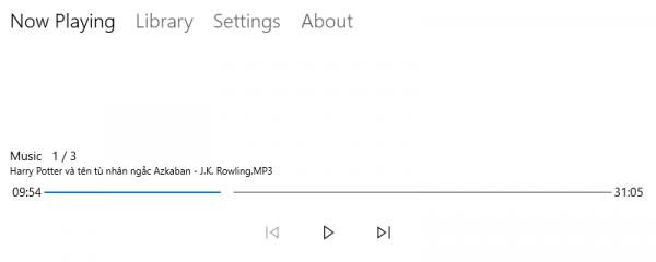 BookListener: Đọc sách nói trên Windows 10 có khả năng ghi nhớ 1