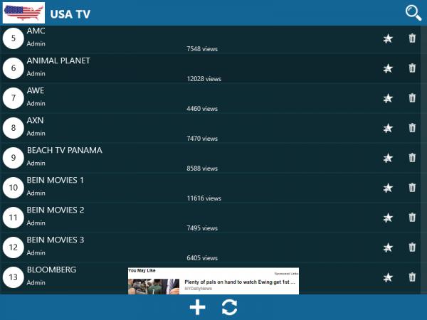 World TV (UWP): Xem hàng ngàn kênh tivi trên thế giới 1