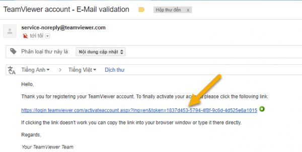 Cách tạo tài khoản Teamviewer để sử dụng 7