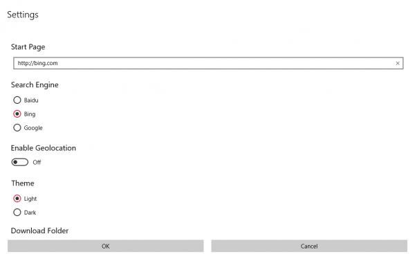 Shiye Browser: Trình duyệt điều khiển bằng cử chỉ trên Windows 10 9