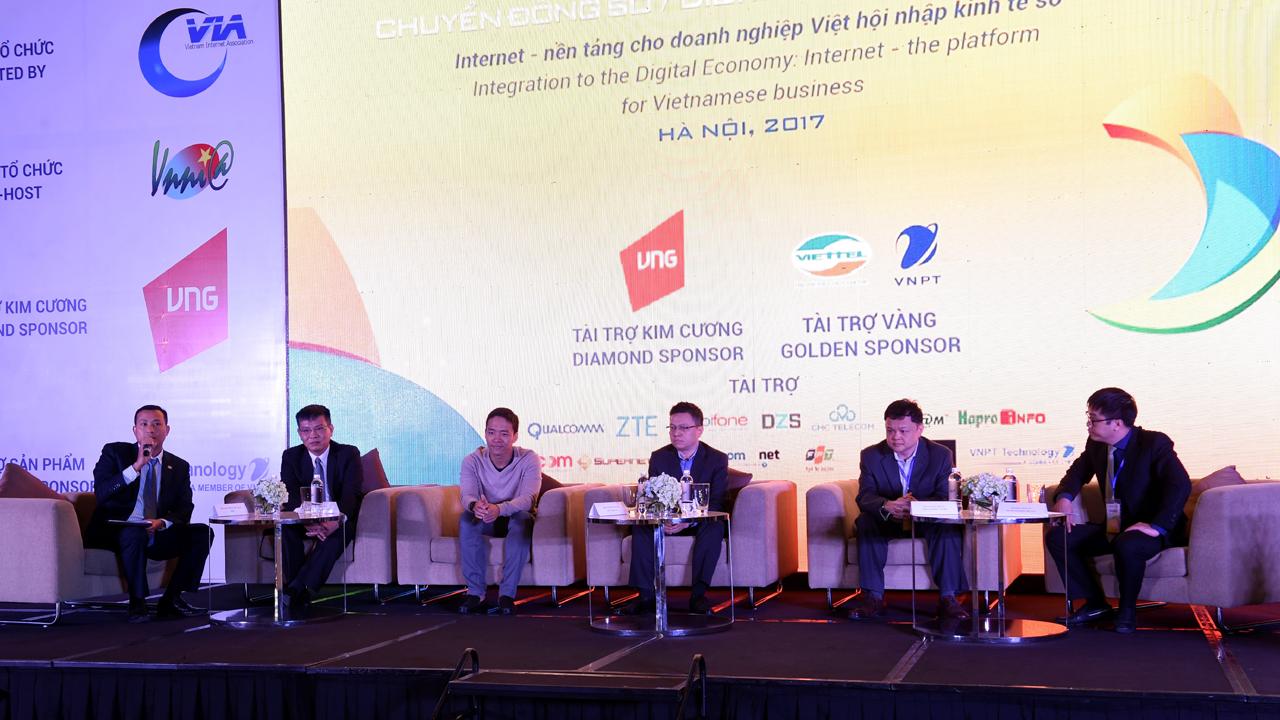 Toa dam Internet Nen tang cho DN Viet hoi nhap kinh te so tai Internet... - Internet Day 2017: Nâng cao nhận thức về Tài nguyên số và Kinh tế số