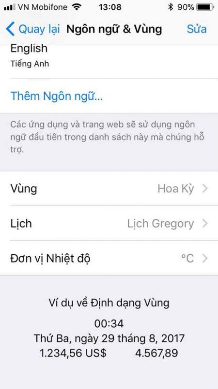 doi do c sang do f ios 11 1 450x800 - Cách đổi từ độ F sang độ C trên iOS 12