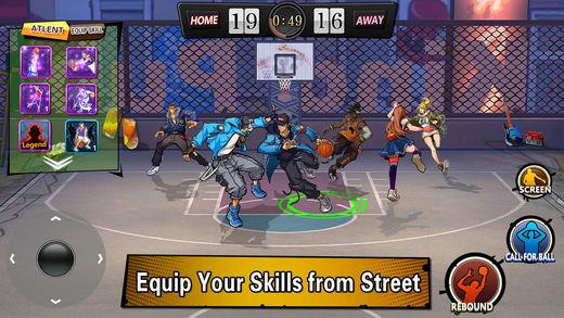 dunk nation - Game mobile box #6: SR Racing, Dunk Nation 3X3, Rhinoball,...