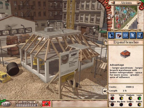 Game cũ mà hay: Fast Food Tycoon 2 2