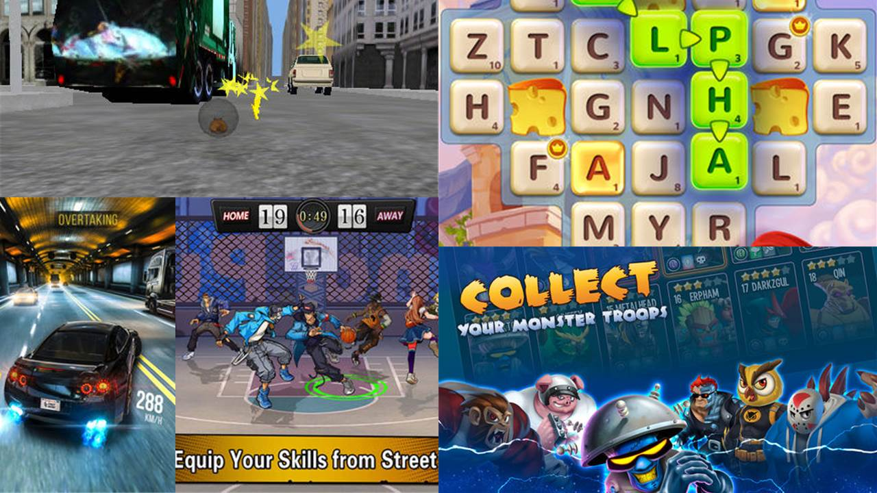 game mobile box so 6 featured - Game mobile box #6: SR Racing, Dunk Nation 3X3, Rhinoball,...