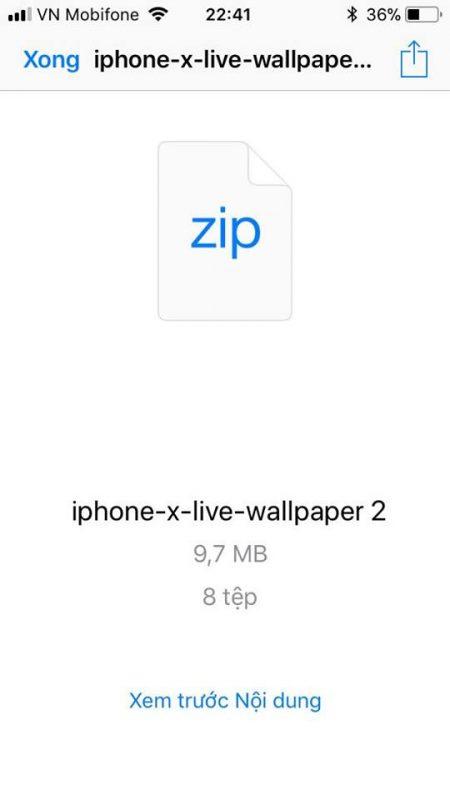 iphone x live wallpaper 5 450x800 - Cách đưa kho hình động độc quyền iPhone X lên điện thoại iPhone khác