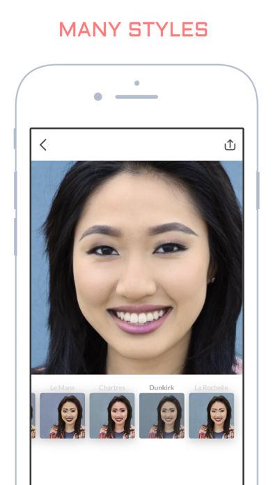 """makeapp 1 - Hài hước ứng dụng biến khuôn mặt trang điểm thành mặt """"mộc"""""""