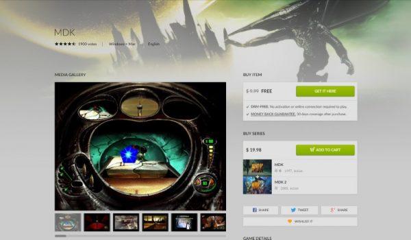 mdk free gog 600x350 - Đang miễn phí game bắn súng kinh điển MDK