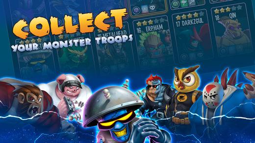 monster legends - Game mobile box #6: SR Racing, Dunk Nation 3X3, Rhinoball,...