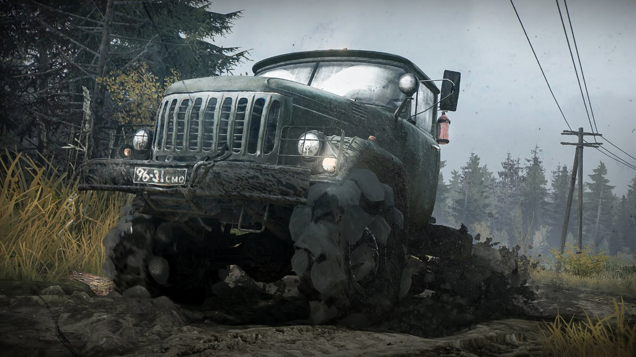 Spintires: Mudrunner game review
