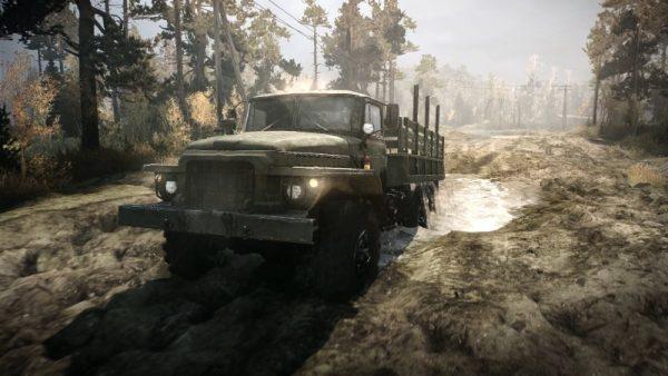 spintires mudrunner screenshot 3 600x338 - Đánh giá Spintires: MudRunner - những chuyến hàng lầy lội