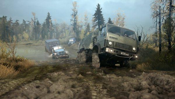 spintires mudrunner screenshot 4 600x338 - Đánh giá Spintires: MudRunner - những chuyến hàng lầy lội