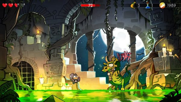 wonder boy the dragons trap screenshot 2 600x338 - Đánh giá Wonder Boy: The Dragon's Trap - lời nguyền rồng máy