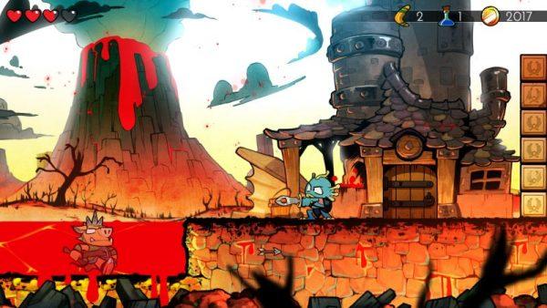 wonder boy the dragons trap screenshot 3 600x338 - Đánh giá Wonder Boy: The Dragon's Trap - lời nguyền rồng máy