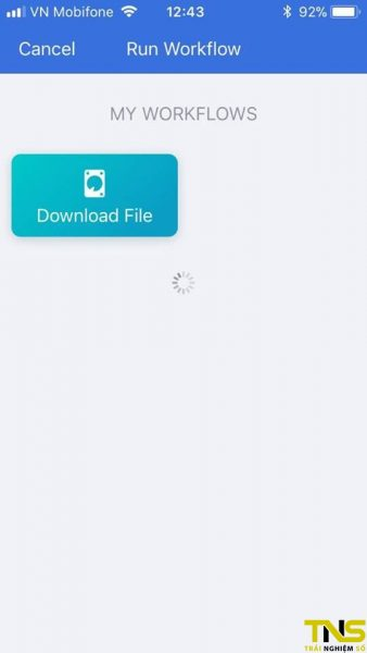 workflow tai file ve iphone 9 338x600 - Cách tải file trên iOS bằng Workflow