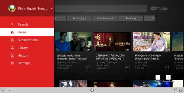 Trải nghiệm YouTubeTV trên Windows 10