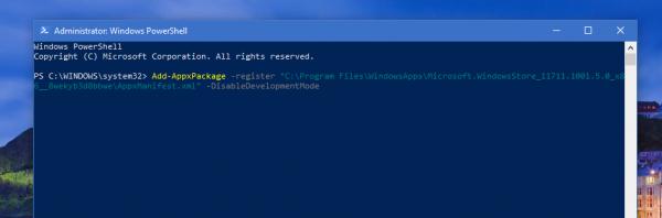 Khắc phục lỗi 0x80080005 không thể cài đặt và cập nhật ứng dụng UWP trên Microsoft Store 4