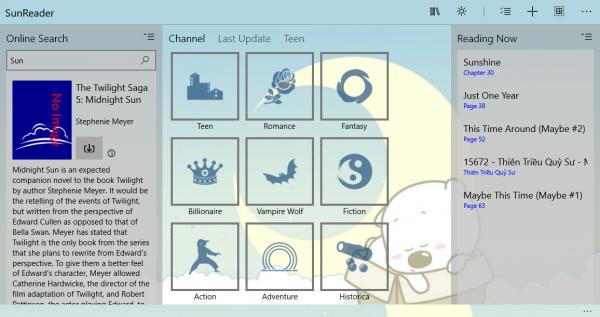 Ứng dụng đọc sách điện tử ePub, Zbk, TXT trên Windows 10 1