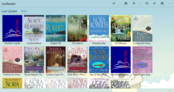 Ứng dụng đọc sách điện tử ePub, Zbk, TXT trên Windows 10 2