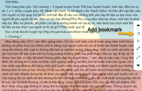 Ứng dụng đọc sách điện tử ePub, Zbk, TXT trên Windows 10 5