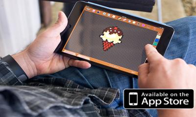 """Pixel Art iOS 400x240 - Những game """"thêu tranh chữ thập"""" đang gây sốt trên iOS"""