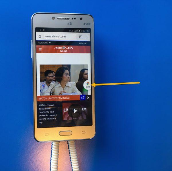 bubble 1 600x598 - Trải nghiệm Datally: Ứng dụng tuyệt vời tiết kiệm dữ liệu di động trên Android