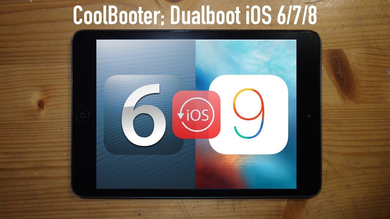 Bạn đã có thể chạy song song 2 HĐH iOS trên iOS 10 3 3 jailbreak