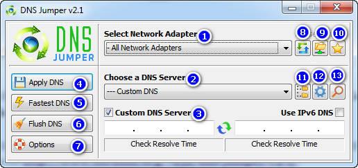 dns jumper 2 - DNS Jumper: Công cụ đổi DNS máy tính cực nhanh