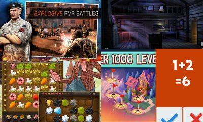 game mobile box so 13 400x240 - Game mobile box #13: Puzzle Craft,Cabin Escape, Solitaire Blast,...