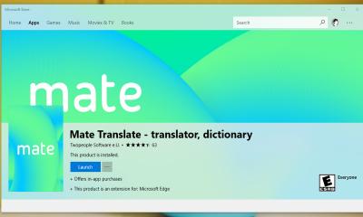mate translate 1 400x240 - Mate Translate: Công cụ dịch thuật 103 ngôn ngữ với nhiều chức năng hay cho Microsoft Edge
