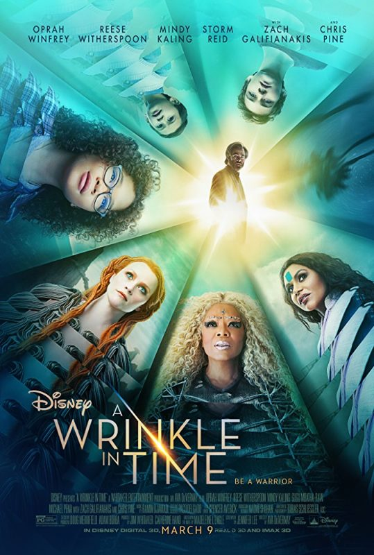 nep gap thoi gian poster 539x800 - Trailer phim chiếu rạp: Nếp Gấp Thời Gian - A Wrinkle In Time (9/3/2018)