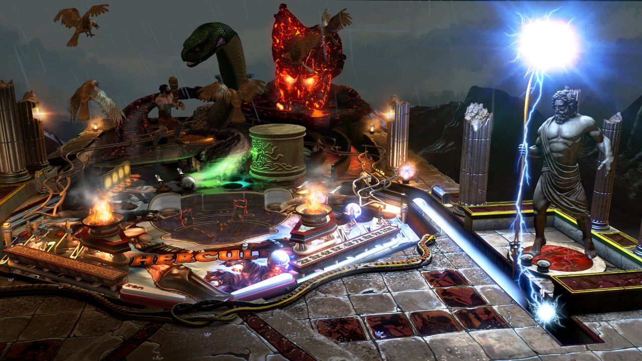 Pinball FX3 - Son of Zeus table screenshot