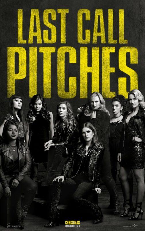 pitch perfect 3 poster 505x800 - Trailer phim chiếu rạp: Sự Nổi Loạn Hoàn Hảo 3 (29/12/2017)