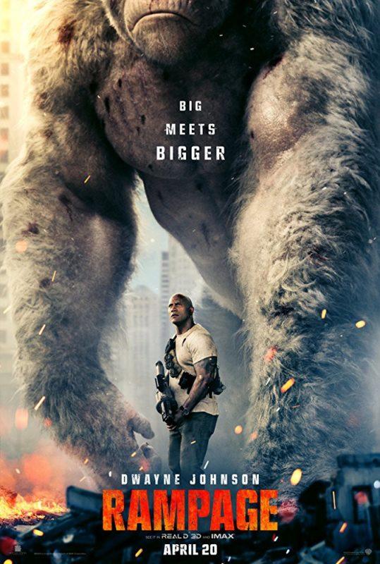rampage poster 539x800 - Trailer phim chiếu rạp: Rampage (20/4/2018)