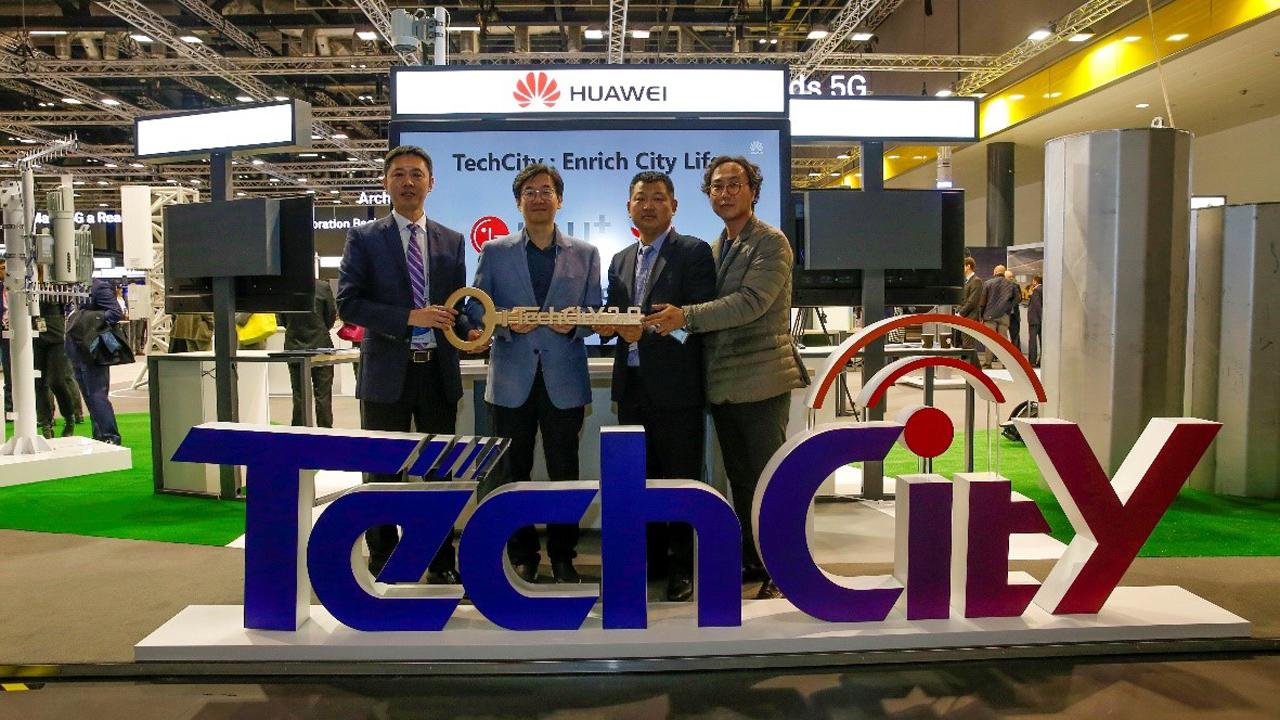 smart city - LG U+ và Huawei khai trương TechCity tại Seoul