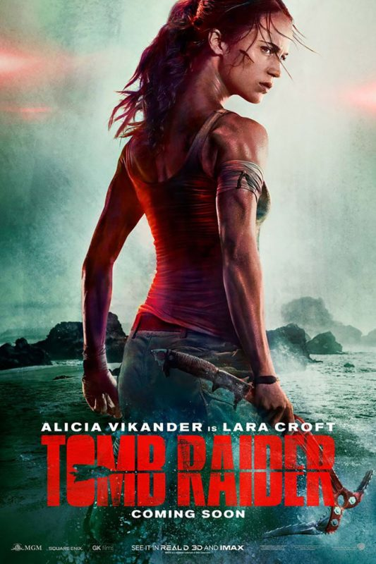 tomb raider poster 533x800 - Trailer phim chiếu rạp: Tomb Raider (16/3/2018)