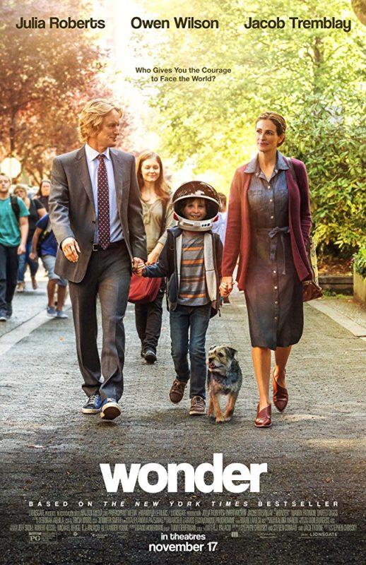 wonder poster 518x800 - Trailer phim chiếu rạp: Điều kỳ diệu - Wonder (29/12/2017)