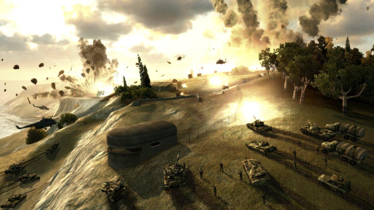 World in Conflict screenshot
