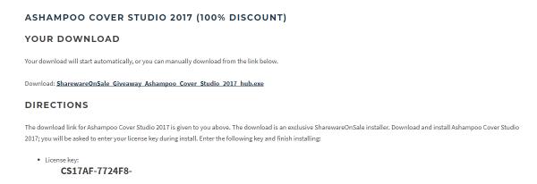 2018 01 18 17 03 11 600x206 - Tổng hợp 10 phần mềm Ashampoo tổng giá trị hơn 6,5 triệu đồng đang miễn phí cho PC