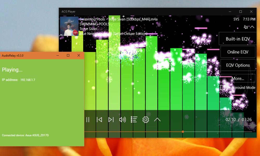 AudioRelay 1000x600 - Biến điện thoại thành loa không dây cho laptop, máy tính Windows