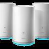 HUAWEI WiFi Q2 3 pack · Hybrid 100x100 - Huawei công bố giải pháp mới WiFi Q2 cho mạng WiFi gia đình tại CES 2018