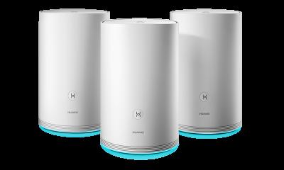 HUAWEI WiFi Q2 3 pack · Hybrid 400x240 - Huawei công bố giải pháp mới WiFi Q2 cho mạng WiFi gia đình tại CES 2018